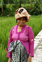 Bentuk Busana Pengantin Muslim Jawa Irdz Kebaya
