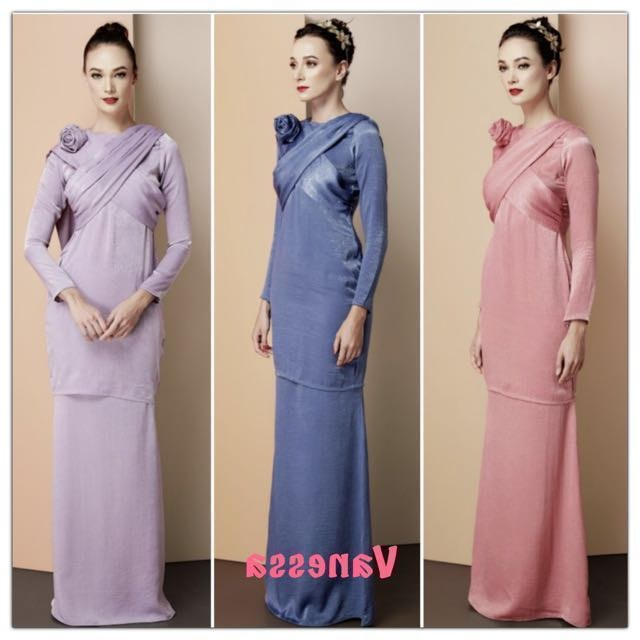 Bentuk Busana Pengantin Muslim Modern Thdr Sale Modern Baju Kurung Women S Fashion Muslimah Fashion