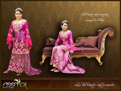 Bentuk Foto Baju Kebaya Pengantin Muslim S1du Jiareen Bridal House May 2010