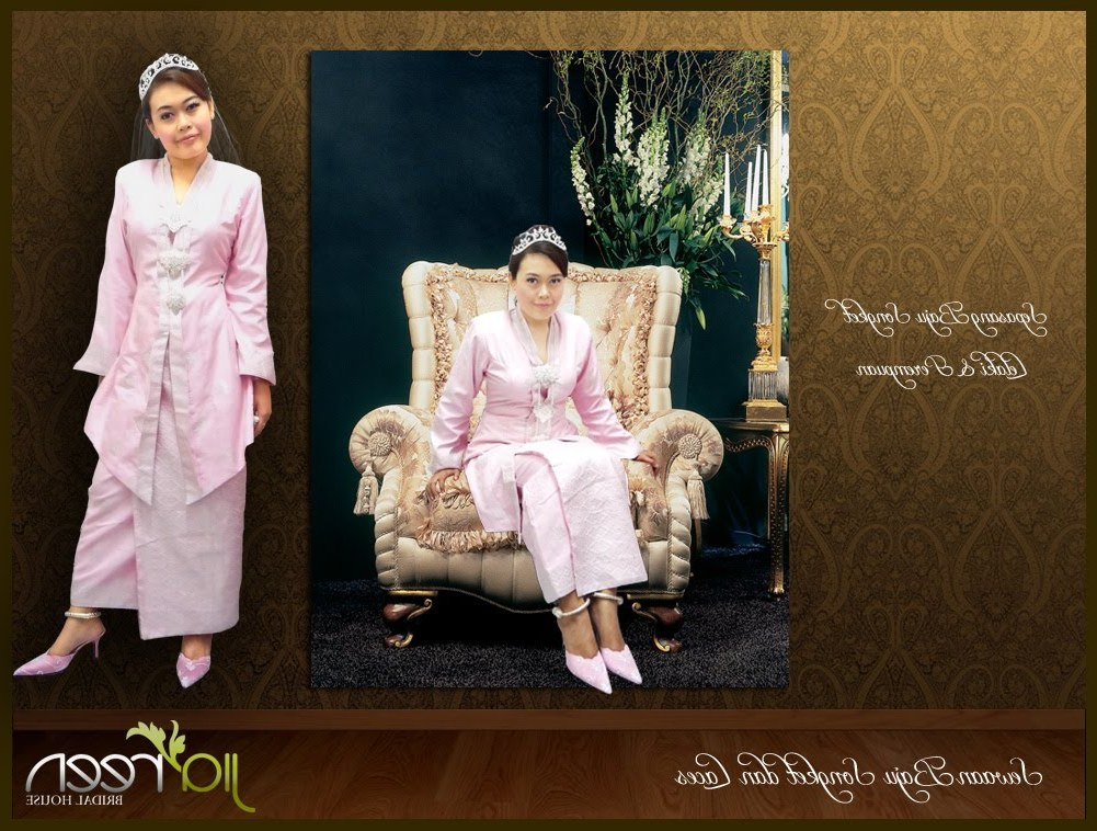 Bentuk Foto Baju Kebaya Pengantin Muslim T8dj Jiareen Bridal House May 2010