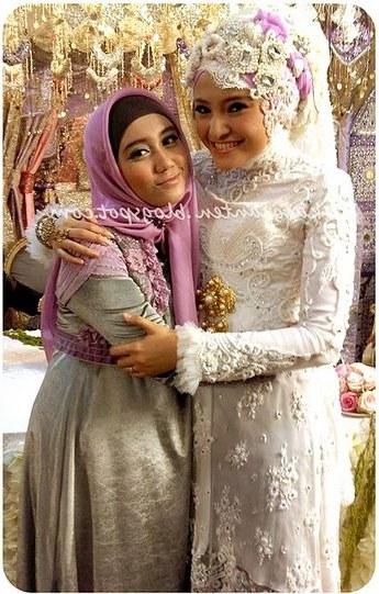 Bentuk Foto Baju Kebaya Pengantin Muslim Wddj Model Baju Pengantin Muslim Baju Pengantin Muslim Dan Model