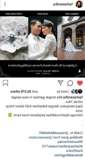 Bentuk Gambar Baju Pengantin Muslim S1du Romantisnya Pandang Pertama Gambar Pra Perkahwinan Fasha