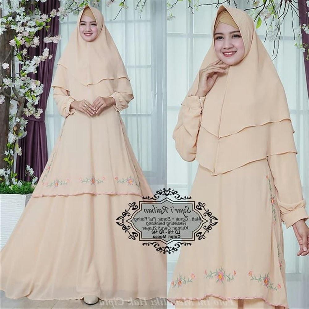 Bentuk Gambar Gaun Pengantin Muslim Modern E6d5 Tangga Dapur Peralatan