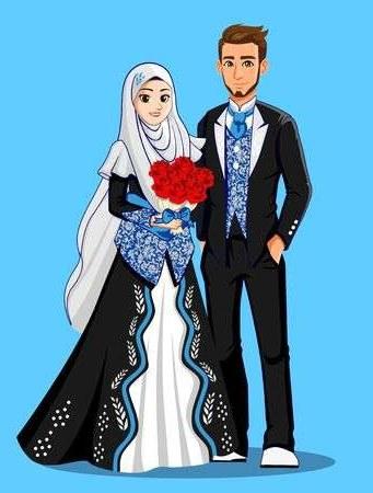 Bentuk Gambar Gaun Pengantin Muslim Modern Ipdd 108 823 Muslim Cliparts Stock Vector and Royalty Free
