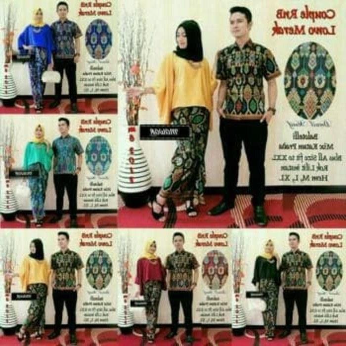 Bentuk Gaun Kebaya Pengantin Muslim Budm Jual Baju Batik Couple Sarimbit Seragam Pesta Hijab Muslim Kebaya Wanita Kab Karanganyar Laddysfashionshop
