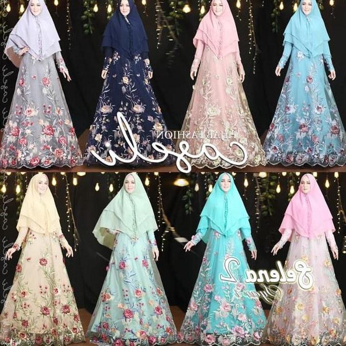 Bentuk Gaun Kebaya Pengantin Muslim Dddy Jual Produk Wanita Kebaya Gaun Kebaya Busana Murah Dan