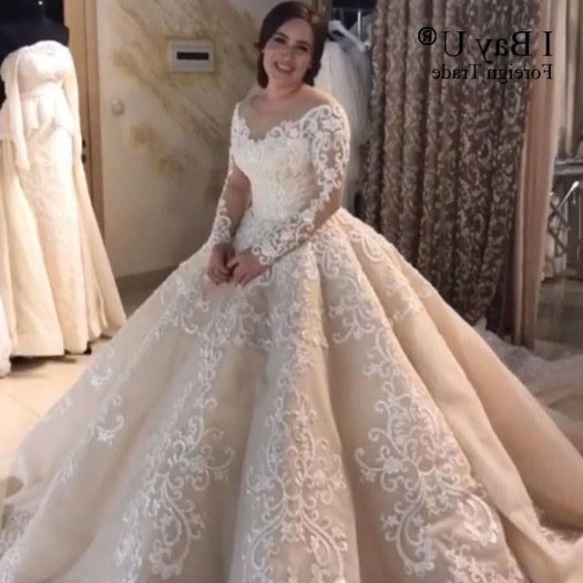 Bentuk Gaun Pengantin Muslim Gold Nkde Muslim Marriage Wedding Dress for Women – Fashion Dresses