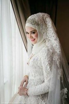Bentuk Gaun Pengantin Muslim Putih Thdr 115 Best Baju Pengantin Images In 2019