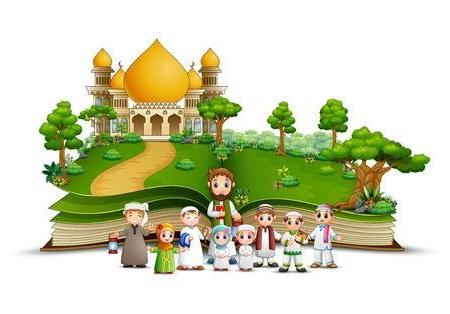 Bentuk Gaun Pengantin Muslim Terbaru Rldj 108 823 Muslim Cliparts Stock Vector and Royalty Free