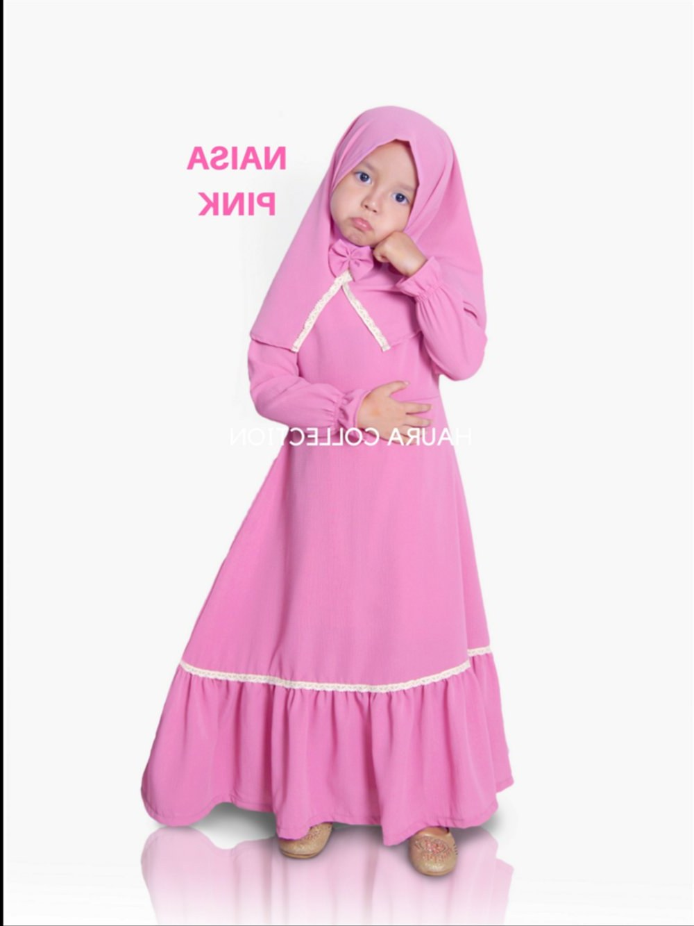 Bentuk Gaun Pengantin Muslimah Ala Princess S1du Bayi