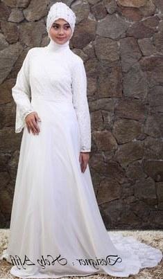 Bentuk Gaun Pengantin Muslimah Biru Muda 8ydm 42 Best Wedding Dress Muslimah Images