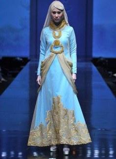 Bentuk Gaun Pengantin Muslimah Biru Muda 9ddf 12 Best Desain Baju Muslim Terbaru Images