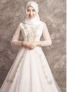 Bentuk Gaun Pengantin Muslimah Biru Muda Nkde 8 Best islamic Dress Images