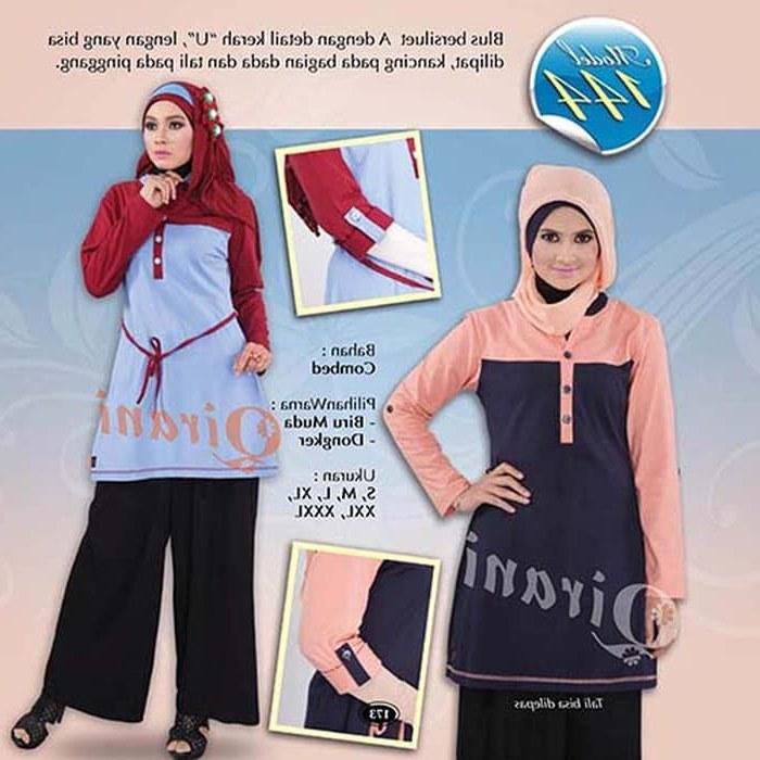 Bentuk Gaun Pengantin Muslimah Biru Muda S5d8 Jual Baju Muslim Qirani Dewasa Q144 Biru Muda Xl Kota Yogyakarta Busana Muslimah Syari