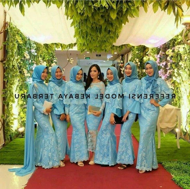Bentuk Gaun Pengantin Muslimah Biru Muda U3dh Syarifah Khodijah Hana Kiss183 On Pinterest