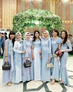 Bentuk Gaun Pengantin Muslimah Biru Muda Zwdg 15 Best Baju Muslim Images