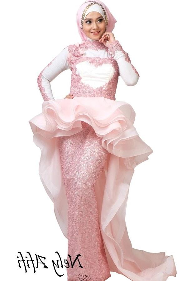Bentuk Gaun Pengantin Muslimah Terindah Bqdd Model Kebaya Akad Nikah Modern Hijab Model Kebaya Terbaru 2019