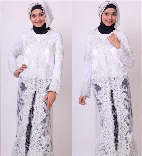 Bentuk Gaun Pengantin Muslimah Terindah D0dg Model Kebaya Akad Nikah Modern Hijab Model Kebaya Terbaru 2019