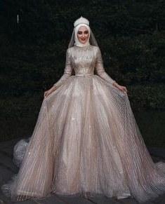 Bentuk Gaun Pengantin Muslimah Terindah Drdp 3095 Best Güzellik Images In 2019