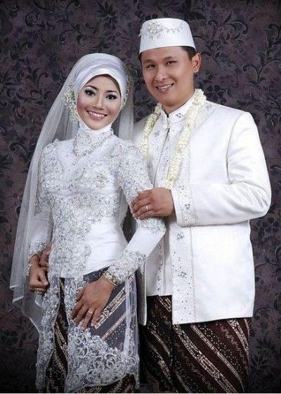 Bentuk Gaun Pengantin Muslimah Terindah Drdp Model Kebaya