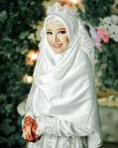 Bentuk Gaun Pengantin Muslimah Terindah Ftd8 15 Best Hijab Pengantin Syari Images In 2019