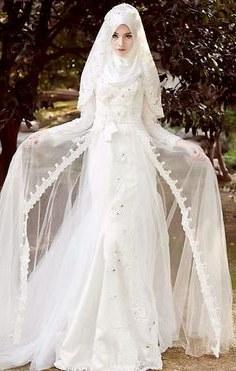 Bentuk Gaun Pengantin Muslimah Terindah O2d5 33 Best Muslim Wedding Images In 2019