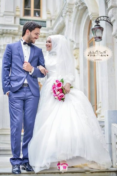 Bentuk Gaun Pengantin Muslimah Terindah S5d8 Model Kebaya Akad Nikah Hijab Model Kebaya Terbaru 2019