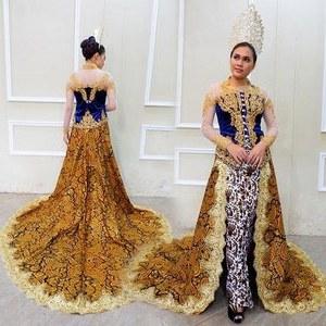 Bentuk Gaun Pengantin Muslimah Terindah T8dj Model Kebaya Akad Nikah Modern Hijab Model Kebaya Terbaru 2019