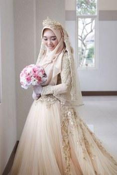 Bentuk Gaun Pengantin Muslimah Terindah Txdf 15 Best Hijab Pengantin Syari Images In 2019