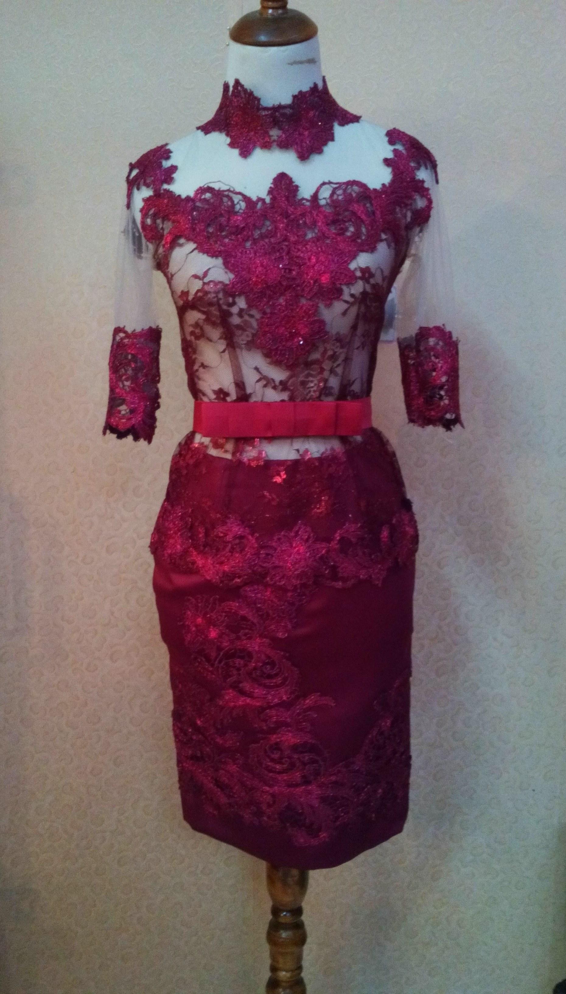 Bentuk Gaun Pengantin Muslimah Warna Merah Marun Fmdf Gaun Pengantin Merah Maroon Terbaik Gaun Pengantin Warna