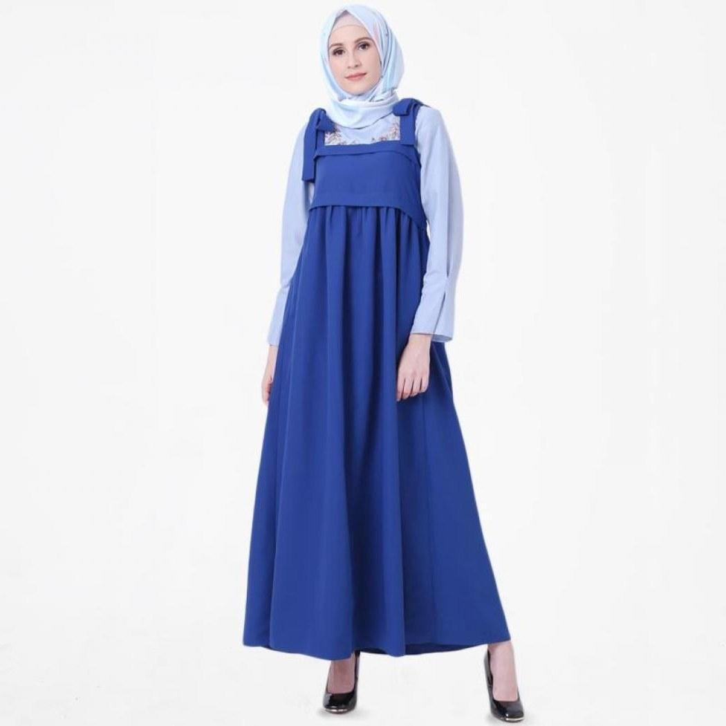 Bentuk Gaun Pengantin Wanita Muslimah 3id6 Jual Gsd Long Dress Sabrina Prisket 9705 1 Black Murah