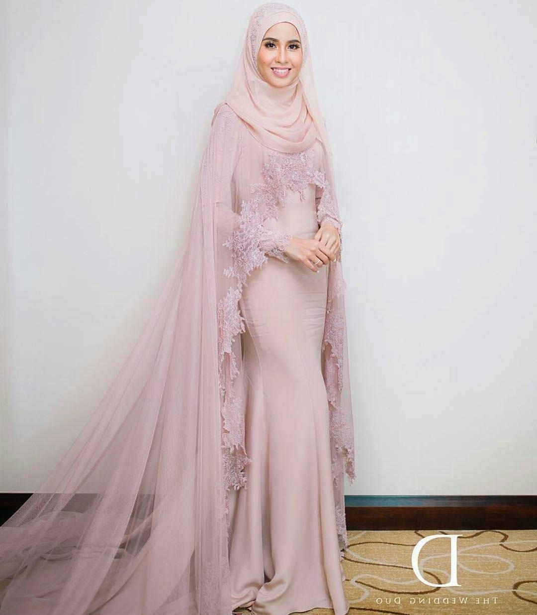 Bentuk Gaun Pernikahan Muslimah Elegan Fmdf Pin by Najibah Hasan On Party Hijab Dress