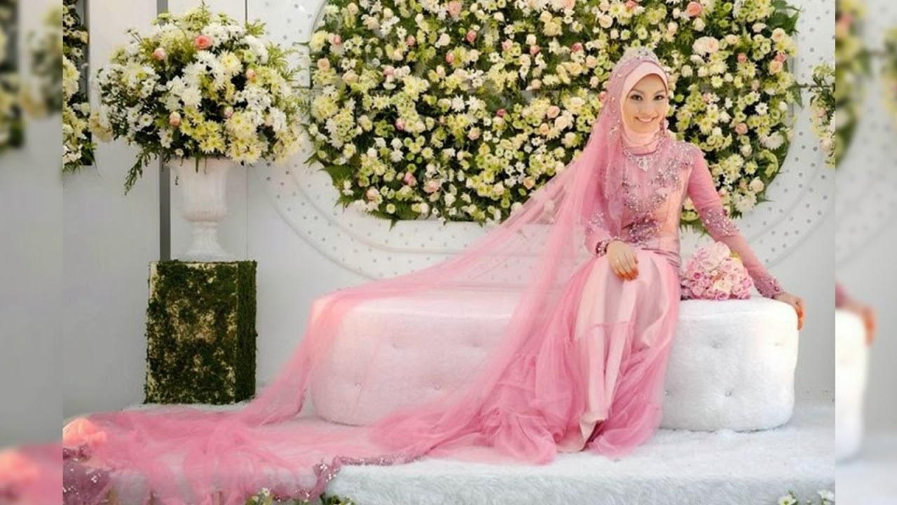 Bentuk Gaun Pernikahan Muslimah Elegan H9d9 Model Gaun Pernikahan Muslimah Simple Elegan