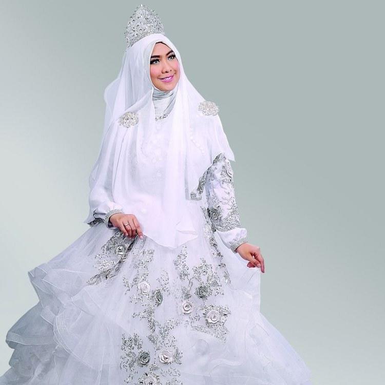 Bentuk Gaun Pernikahan Muslimah Elegan T8dj 15 Inspirasi Gaun Pernikahan Syar I Ini Bisa Dicontek Demi