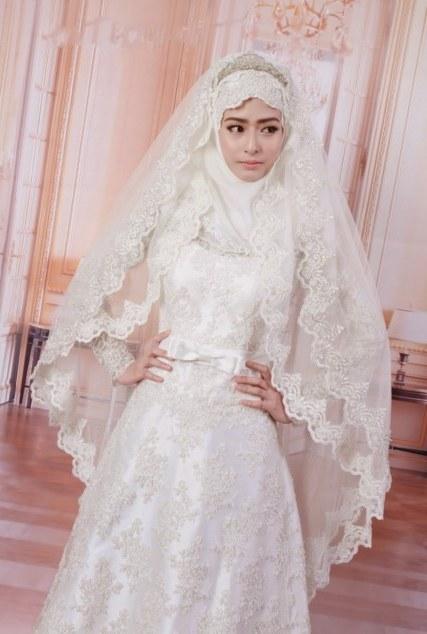 Bentuk Gaun Pernikahan Muslimah Elegan Tqd3 32 Gaun Pernikahan Simple Dan Elegan Inspirasi Terpopuler