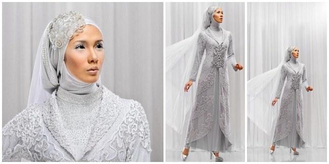 Bentuk Gaun Pernikahan Muslimah Elegan Zwd9 6 Gaun Pengantin Muslimah Elegan
