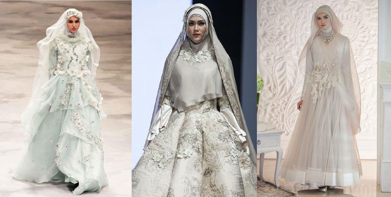 Bentuk Gaun Pernikahan Muslimah Syar'i 3ldq Gaun Pengantin Muslim Syar I Inspirasi Pernikahan