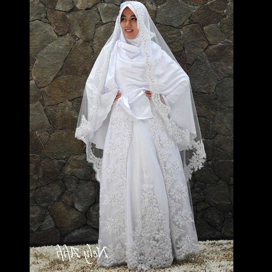 Bentuk Gaun Pernikahan Muslimah Syar'i Xtd6 Baju Pengantin Muslimah Syar I Inspirasi Pernikahan
