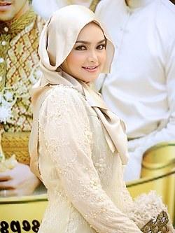 Bentuk Gaun Pesta Pengantin Muslim Etdg Mount Bintang