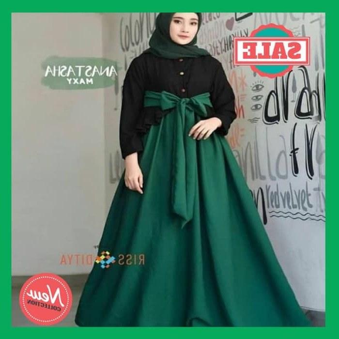 Bentuk Harga Gaun Pengantin Muslimah Ffdn Jual Harga Anastasia Gamis Murah Anastasia Maxi Dress Muslim Gamis Wanita Kab Bandung Albiant Shop
