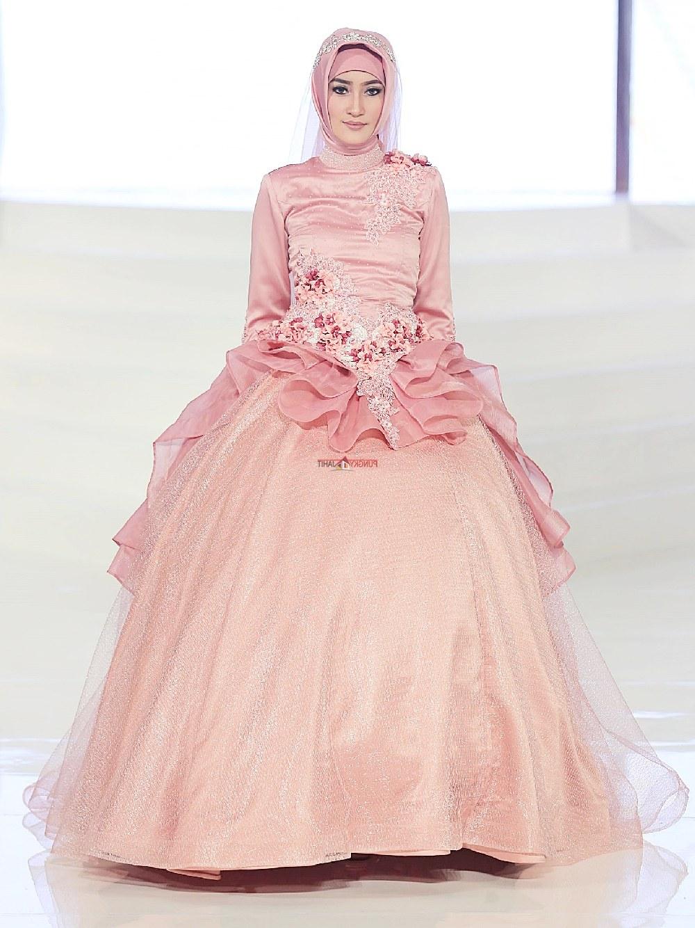 Bentuk Harga Gaun Pengantin Muslimah Syar'i 8ydm Trend Baju Pengantin 2018 Sederhana Modern Dan Cantik