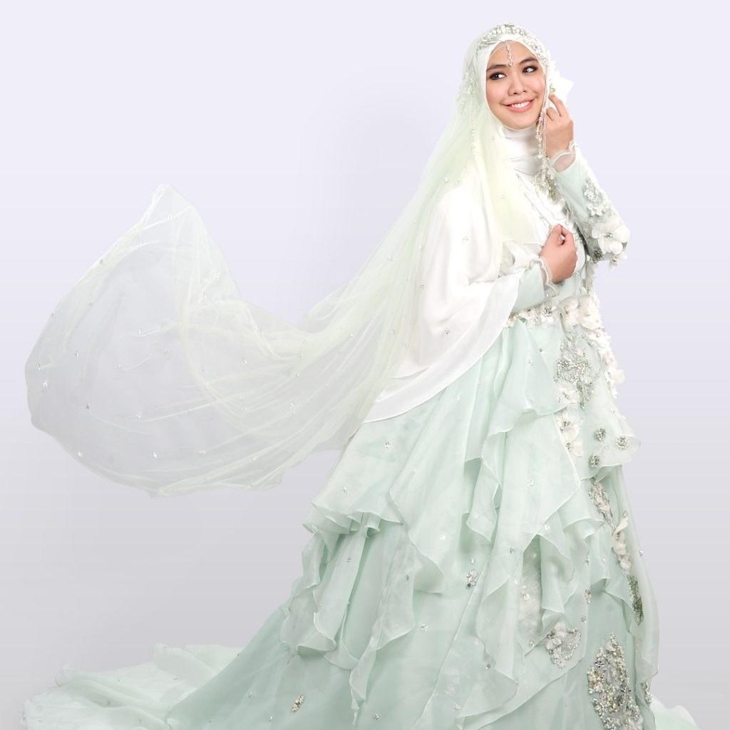 Bentuk Harga Gaun Pengantin Muslimah Syar'i Bqdd Koleksi Baju Pengantin Muslimah Rabbani Dan Harganya
