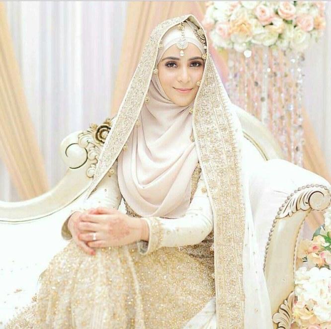 Bentuk Harga Gaun Pengantin Muslimah Syar'i Dwdk 50 Model Baju Pengantin Muslim Modern Terbaru Berikut