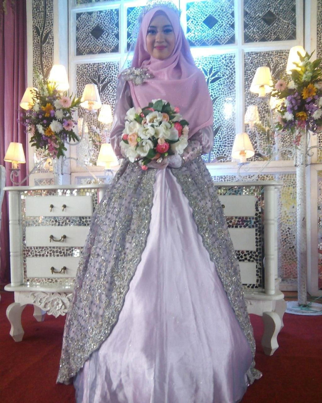 Bentuk Harga Gaun Pengantin Muslimah Syar'i Xtd6 Sewa Gaun Pengantin Muslimah Bandung