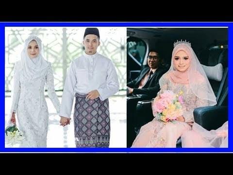 Bentuk Inspirasi Gaun Pengantin Muslim 8ydm Videos Matching Baju Melayu 2018 Siqma
