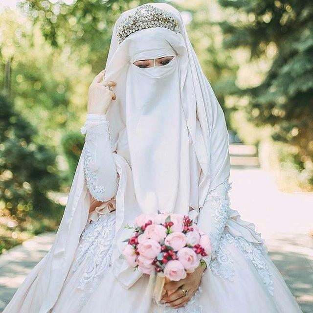 Bentuk Inspirasi Gaun Pengantin Muslim Nkde top Info Gaun Pengantin Niqab Baju Pengantin