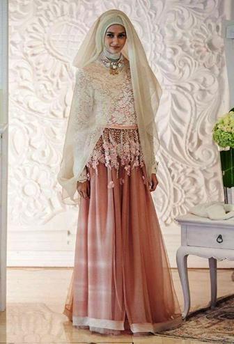 Bentuk Kebaya Pernikahan Muslimah Terindah 0gdr Model Kebaya Akad Nikah Hijab Model Kebaya Terbaru 2019