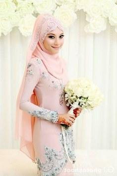 Bentuk Kebaya Pernikahan Muslimah Terindah Q5df 33 Best Muslim Wedding Images In 2019