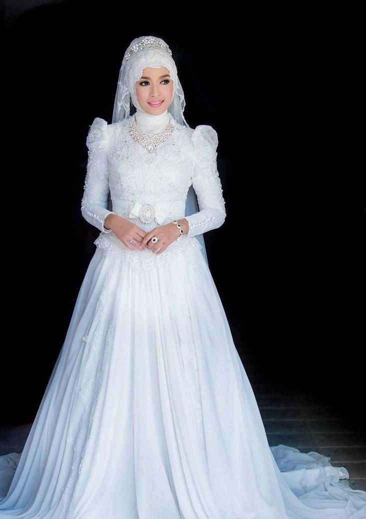 Bentuk Kebaya Pernikahan Muslimah Terindah Rldj Sekadar Berbagi 2015
