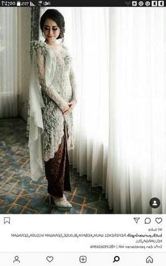 Bentuk Model Baju Kebaya Pengantin Muslimah Etdg 190 Best Kebaya Images In 2019